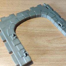 Playmobil: PLAYMOBIL STECK ENTRADA NEGRA ANTIGUO FAMOBIL CASTILLO GRANJA PUEBLO. Lote 295280628