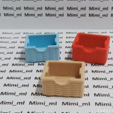 Playmobil: PLAYMOBIL 3 CESTAS MIMBRE COLORES. Lote 295281198