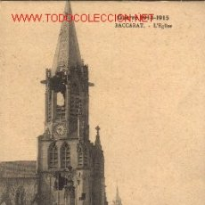 Postales: POSTAL FRANCESA DEBACCARAT.1914-15.. Lote 373623
