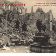 Postales: POSTAL FRANCESA DEBACCARAT.1914-15.. Lote 373625