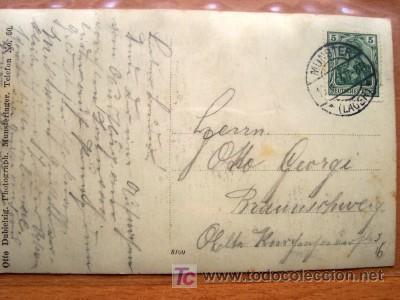 Postales: POSTAL GRUPO MILITAR EN UNA ESCENA CIRCULADA Y CON SELLO - Foto 2 - 22796189