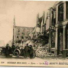Postales: POSTAL DE GUERRA 1914-1916 DESPUES DEL BOMBARDEO. Lote 4698883