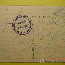 Postales: 4494 PRIMERA GUERRA MUNDIAL POSTAL ESCRITA POR SOLDADO ALEMAN DESDE LA FRANCIA OCUPADA 1915 C&C. Lote 6699747