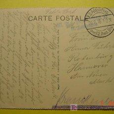 Postales: 4486 PRIMERA GUERRA MUNDIAL POSTAL ESCRITA POR SOLDADO ALEMAN DESDE LA FRANCIA OCUPADA 1915 C&C. Lote 6699759