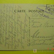 Postales: 4482 PRIMERA GUERRA MUNDIAL POSTAL ESCRITA POR SOLDADO ALEMAN DESDE LA FRANCIA OCUPADA 1915 C&C. Lote 6699783