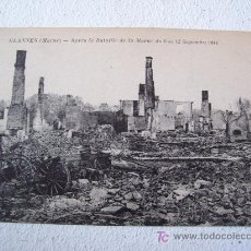 Postales: POSTAL DE 1ºGUERRA MUNDIAL: GLANNES (MARNE)-APRES LA BATAILLE DEL MARNE 1914 (FRANCIA, SIN CIRCULAR). Lote 20762292