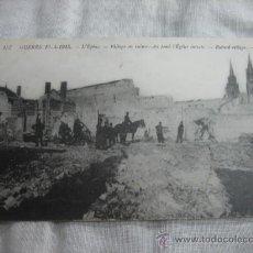 Postales: GUERRA 1914-1915 .-L´EPINE.-VILLAGE EN RUINAS. Lote 11679784