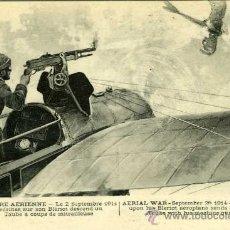 Postales: POSTAL GUERRA AEREA SEPTIEMBRE 1914. Lote 10371970