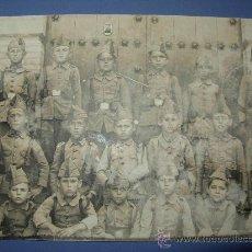 Postales: TARJETA POSTAL PELOTON INFANTIL PRINCIPIOS 1900. Lote 17525516