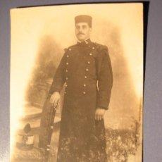 Postales: TARJETA POSTAL ARTILLERO ALFONSINO - PRINCIPIO 1900. Lote 17525528