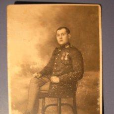 Postales: TARJETA POSTAL - SOLDADO ALFONSINO DE INTENDENCIA- PRINCIPIO DE 1900. Lote 18371884