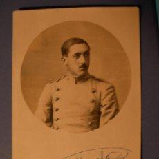 Postales: TARJETA POSTAL CADETE DE ARTILLERIA AÑO 1914. Lote 18371885