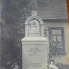 Postales: ALEMANIA, 1ª GUERRA MUNDIAL, MONUMENTO 1914-1918. Lote 14115470