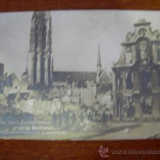 Postales: BELGICA 1ª GUERRA MUNDIAL, BOMBARDEO. Lote 14206983
