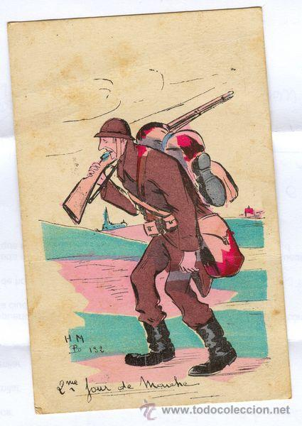 BELGICA, TARJETA POSTAL BELGA, 1ª GUERA MUNDIAL, 1914-1918. (Postales - Postales Temáticas - I Guerra Mundial)