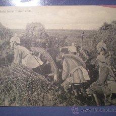Postales: POSTAL ARTILLERIA 1 ª GUERRA MUNDIAL ESCRITA Y SELLO AÑO 1915. Lote 26200832