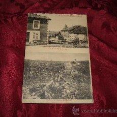 Postales: FLEURY DEVANT DOUAUMONT LA RUE DE L'EGLISE EN 1914-EMPLACAMENT ACTUEL DE L'EGLISE,CM PHOTO VERDUN . Lote 13987616