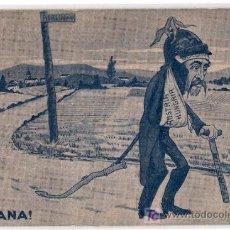 Postales: TARJETA POSTAL HUMORISTICA DE LA GUERRA. MAÑANA. JIM VODREY - LONDON. Lote 14694650