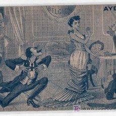 Postales: TARJETA POSTAL HUMORISTICA DE LA GUERRA. AYER. JIM VODREY - LONDON. Lote 14694674