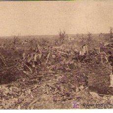 Postales: BATALLA DEL SOMME. ASPECTO DE ALGUNOS PUEBLOS RECONQUISTADOS EN LA OFENSIVA FRANCO-INGLESA. 1916. Lote 14845290