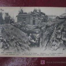 Postales: BATALLA DE LA SOMME. 1914-1916. MAUCOURT. PRIMERA GUERRA MUNDIAL. Lote 15339525
