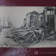 Postales: BATALLA DE LA SOMME. 1914-1916. RUINAS DE CURLU. PRIMERA GUERRA MUNDIAL. Lote 15339560
