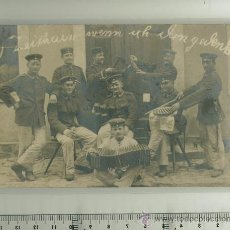 Postales: FOTO ORIGINAL GRUPO DE SOLDADOS ALEMANES 1ª G.M.. Lote 27563939