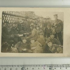 Postales: FOTO ORIGINAL GRUPO DE SOLDADOS ALEMANES 1ª G.M.. Lote 18358572