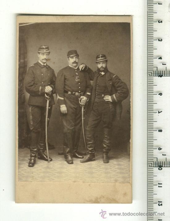 FOTO ORIGINAL GRUPO DE SOLDADOS FRANCESES 1ª G.M. (Postales - Postales Temáticas - I Guerra Mundial)
