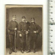 Postales: FOTO ORIGINAL GRUPO DE SOLDADOS FRANCESES 1ª G.M.. Lote 18358577