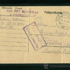 Postales: POSTAL ANTIGUA ALEMANA CIRCULADA. Lote 19550759