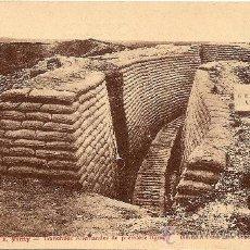 Postales: VIMY - TRINCHERAS ALEMANAS EN PRIMERA LINEA - ABRIL 1917 - SIN CIRCULAR. Lote 26200040