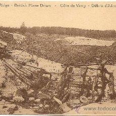 Postales: VIMY-RIDGE - AVION BRITANICO EN PICADO - SIN CIRCULAR. Lote 22666263