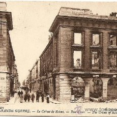 Postales: LA GRANDE GUERRE - LE CRIME DE REIMS - SIN CIRCULAR. Lote 22309341