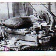 Postales: 1 GUERRA MUNDIAL. TORNADURA DEL PROYECTIL DE ARTILLERÍA. ARMAMENTO. SIN CIRCULAR.. Lote 17338049
