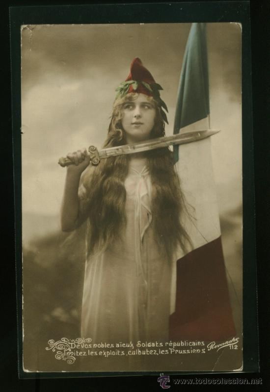 POSTAL FRANCESA FRANCIA PATRIOTICA - PRIMERA GUERRA MUNDIAL (Postales - Postales Temáticas - I Guerra Mundial)