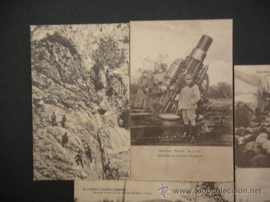 CINCO ANTIGUAS POSTALES DE LA II GUERRA MUNDIAL (Postales - Postales Temáticas - I Guerra Mundial)