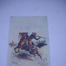 Postales: LA GRANDE GUERRE, AOUT 1914, CHASSEURS D'AFRIQUE. Lote 22141430