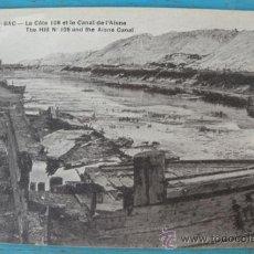 Postales: ANTIGUA POSTAL DE BEERY - AU - BAC - LA CÔTE 108 ET LE CANAL DE L'AISNE - POSTAL FRANCESA DE LA 1ª G. Lote 22981579