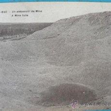 Postales: ANTIGUA POSTAL DE BEERY - AU - BAC - UN ENTONNOIR DE MINE - POSTAL FRANCESA DE LA 1ª GUERRA MUNDIAL . Lote 22981933