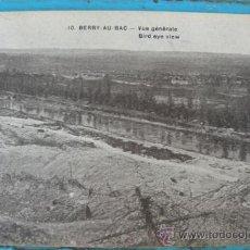 Postales: ANTIGUA POSTAL DE BEERY - AU - BAC - VUE GENERALE - POSTAL FRANCESA DE LA 1ª GUERRA MUNDIAL - CUISIN. Lote 22981973