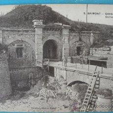 Postales: ANTIGUA POSTAL DE BEERY - AU - BAC - ENTRÉE DU FORT - POSTAL FRANCESA DE LA 1ª GUERRA MUNDIAL - CUIS. Lote 22982048