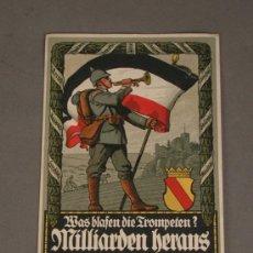 Postales: POSTAL. PRIMERA GUERRA MUNDIAL. ALEMANIA. 1915. KAISERREICH.. Lote 28467864