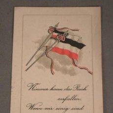Postales: POSTAL. PRIMERA GUERRA MUNDIAL. 1916. ALEMANIA. KAISERREICH.. Lote 28468012