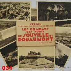 Postales: FRANCIA : LOTE DE 10 POSTALES DE LOS COMBATES DE SOUVILLE Y DOUAMONT. 1ª GUERRA MUNDIAL.. Lote 28748466