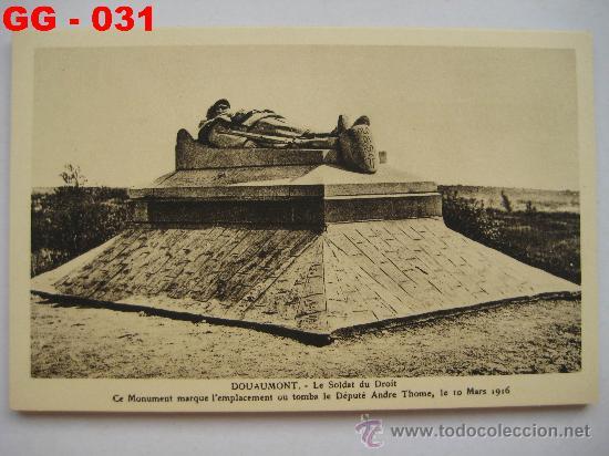 Postales: FRANCIA : LOTE DE 10 POSTALES DE LOS COMBATES DE SOUVILLE Y DOUAMONT. 1ª GUERRA MUNDIAL. - Foto 3 - 28748466
