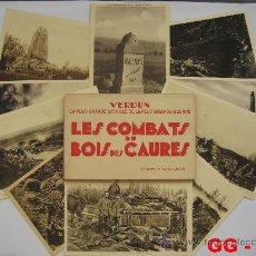 Postales: FRANCIA : LOTE DE 10 POSTALES DE LOS COMBATES DEL BOSQUE DE CAURES. 1ª GUERRA MUNDIAL.. Lote 28748632