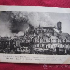 Postales: REIMS 19 SEPTIEMBRE 1914. Lote 35587548
