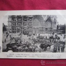 Postales: REIMS 6 SEPTIEMBRE 1914. Lote 35587564
