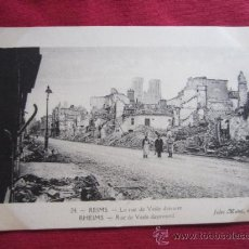 Postales: REIMS SEPTIEMBRE 1914. Lote 35587889